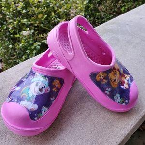 Size 9/10 Paw Patrol shoes